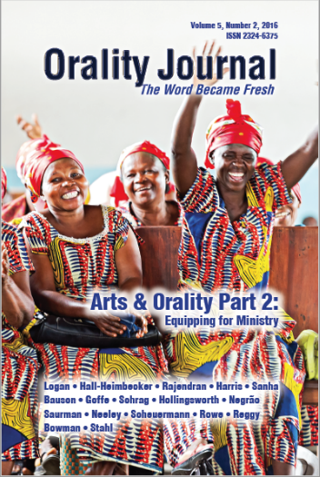 Part 2 of Arts & Orality published