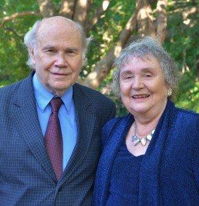 Dallas International Assistant Professor, Wayne Dye and his wife, Sally