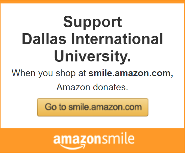Support Dallas International through Amazon Smile